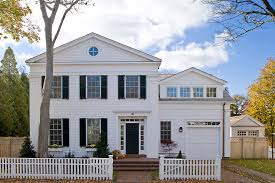 white wood garage door. Staircase In Front Of Window Exterior Traditional With White Wood Garage Door Treatments