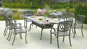 outdoor patio furniture pertaining to metal table white with umbrella hole metal patio table