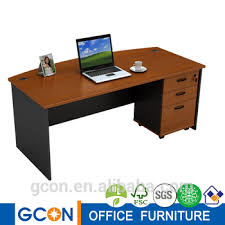 Simple clean top office table design
