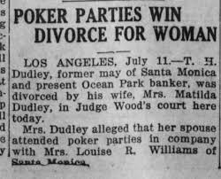 11 Jul 1921 TH and Matilda Dudley - Newspapers.com