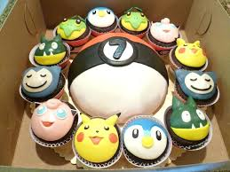 Pokemon Birthday Cakes For Boys Cakes Cupcakes Birthday Cake Manish
