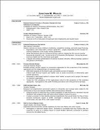 Resume Examples Word Format – Resume Template Directory