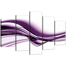 extra large purple abstract superb purple canvas wall art