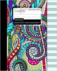 blank sheet music book blank sheet music music manuscript paper staff paper musicians