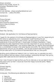 Architecture Intern Cover Letter Under Fontanacountryinn Com