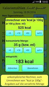 Kalorienrechner: Kalorienbedarf individuell berechnen
