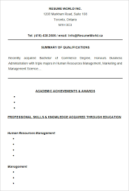 College Resume Format Unique 48 College Resume Template Sample Examples Free Premium Templates