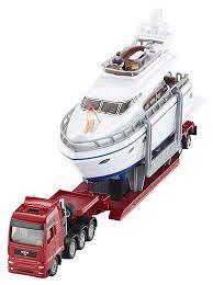 Набор <b>машин Siku</b> Тягач с яхтой (1849) 1:87 27 см — Машинки и ...