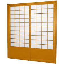 japanese shoji screens for sliding glass doors photo 1