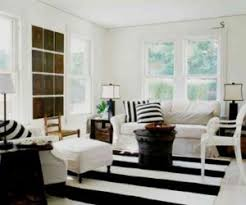 black and white office. Decorating With Bold Black And White Stripes: Ideas \u0026 Inspiration Office