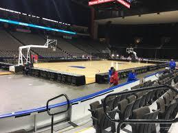 Vystar Veterans Memorial Arena Section 106 Basketball