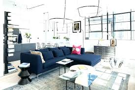 dark blue couch. Blue Couch Living Room With Dark Sofa New Ideas .