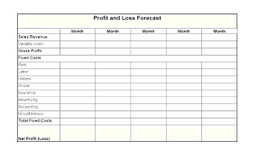monthly profit and loss statement template free download income loss statement template