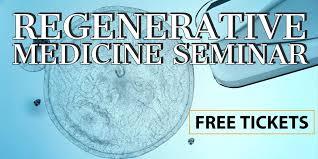 free regenerative medicine stem cell seminar lancaster palmdale ca