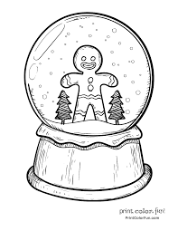 Small Picture Blank Gingerbread Man Print Color Fun Free Printables Coloring
