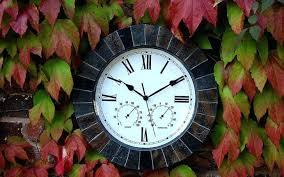 medium size of black iron outdoor garden wall clock large slate effect the best clocks interiors
