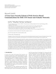 A Cross Layer Security Scheme Of Web Services Based Communications