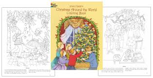 Small Picture Christmas Around The World Coloring Book Coloring Pages