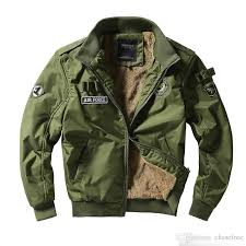 men army tactical jackets military style clothes men winter thick pilot coat us army 101 air force er jacket coat fur leather jacket outerwear for men