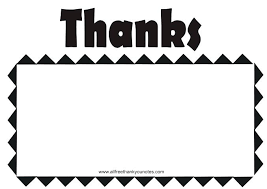Free Downloads Thank You Cards Blank Thank You Card Template Recipe Free Haydenmedia Co