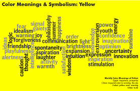 Yellow shines with optimism, enlightenment and happiness. Beams of golden  yellow carry the promise ?