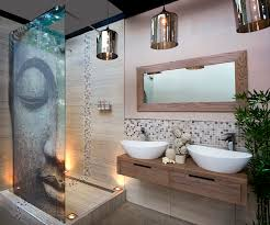 bathroom inspiration. bathrooms can so easily become mundane but, by introducing a contemporary eastern theme, you bathroom inspiration