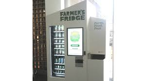 Nearest Vending Machine Impressive Farmer's Fridge Plans 48 Location Expansion In Midwest