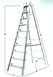 Step Ladder Size Chart Extension Ladder Dimensions Riverraftingrishikesh Co