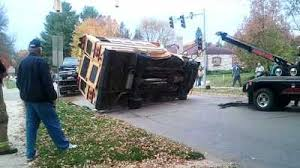 STUDENTS INJURED: Truck Hits Bus In Clinton | whotv.com