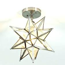 punched star pendant light uk