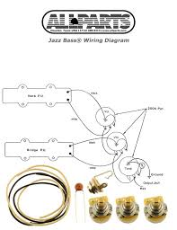 left handed stratocaster wiring diagram wirdig ep 4129 000 wiring kit for jazz bass®