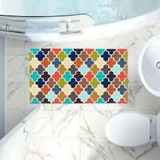 quatrefoil bath rug artistic bathroom towels organic saturation earthy jessica simpson quatrefoil bath rug
