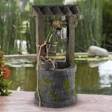 pure garden 4 tier wishing well
