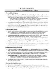 Cio Cto Sample Resume By Award Winning Executive Resume Writer For