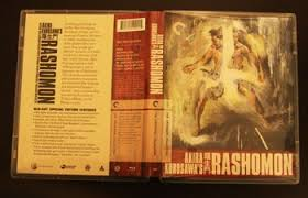 rashomon the criterion collection blu ray dvd talk review of the striking image of tajatildeacutemaru in a lovely colorful design adorns the front of the criterion collection s blu ray upgrade for rashomon which comes in