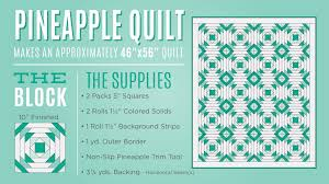 Learn to make a Pineapple Quilt with Jenny! & The Pineapple Quilt is an absolute delight – and with the Creative Grids  Pineapple Trim Tool, you can whip up perfect blocks at lightning speed! Adamdwight.com