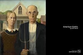 american gothic is an iconic painting that has been parod countless times and has cemented itself in popular culture instantly recognizable to most