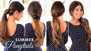 Luxy Hair Style cute summer ponytails luxy hair youtube 7560 by wearticles.com