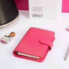 Us 33 61 Personal Hollow Notebook Loose Leaf Diary Refillable Planner A5 A6 Spiral Agenda Cover Organizer Korean Design 2018 Fashion In Notebooks