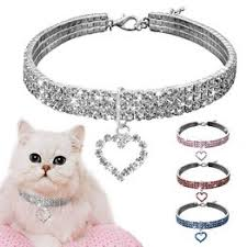 New Style Cute Crystal Pet Collar Dog accessories Pet ... - Vova