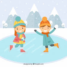 Image result for ice skating clip art