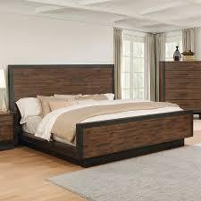 Shop Scott Living Vintage Bourbon California King Platform Bed at
