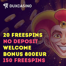 For some free spins bonuses you just have to register and no deposit is required, for. Dux Casino 20 Free Spins No Deposit Bonus No Deposit Bonus Casino