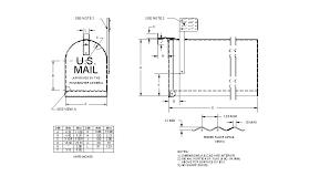 mailbox flag dimensions. Endearing Mailbox Flag Dimensions Backyard Small Room Fresh At Traditional%20Mailbox%20 %20Figure D