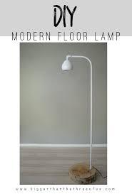 modern standing lamp. DIY Modern Floor Lamp Tutorial Standing