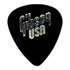 <b>Медиатор Gibson APRGG-74H 1/2</b> Gross Black Standart Style/Heavy