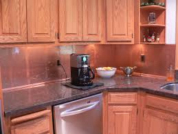 Copper Backsplash Kitchen Copper Kitchens With Depth The Copper Backsplash Company