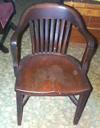 Vintage Wooden Chairs Wood Gallery For Old Office    Sale W19