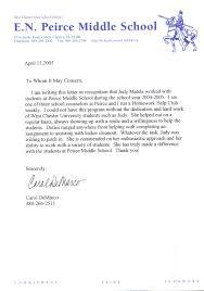Letter Of Recommendation For Teacher Colleague Teacher Letter Of