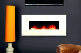 electric fireplace curved insert flat fremont linear heater